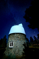 Observatoire Lowell et Voie Lactée - Lowell Observatory and the Milky Way